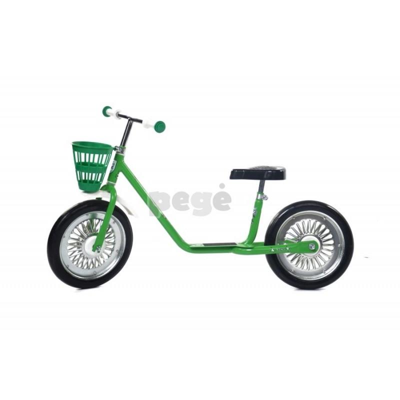Balansinis dviratukas MINI SPARITE žalias su juodais ratais