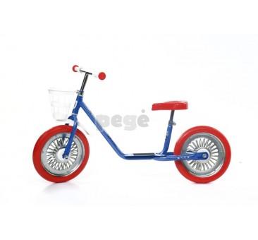 Balansinis dviratukas MINI SPARITE mėlynas su raudonais ratais
