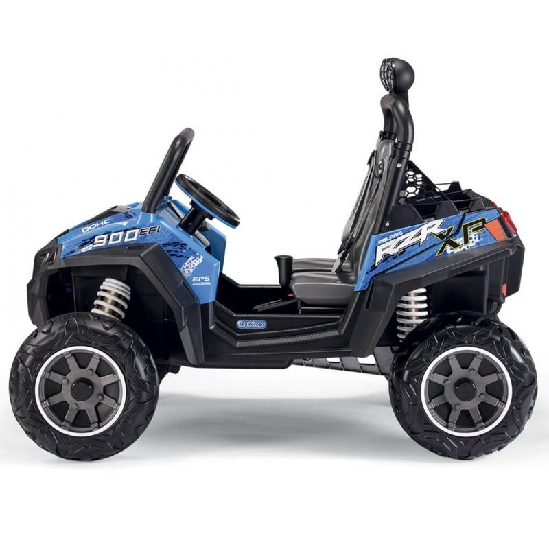 Elektromobilis PEG PEREGO RANGER RZR 900 BLUE 12V
