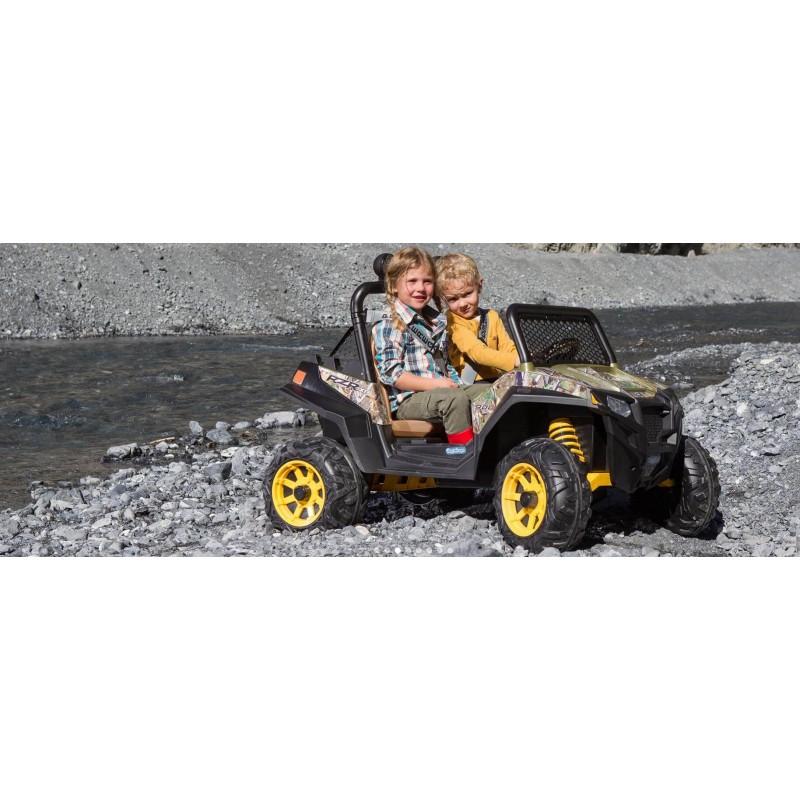 Elektromobilis PEG PEREGO RANGER RZR 900 12V CAMOUFLAGE