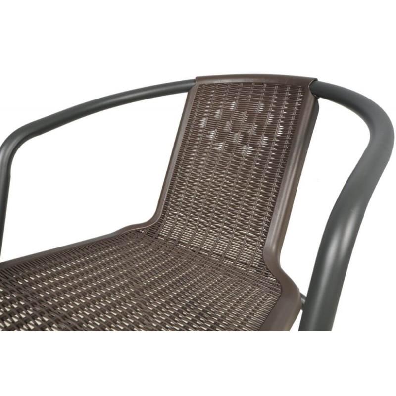 Lauko baldai MEPLE 150/6 BROWN