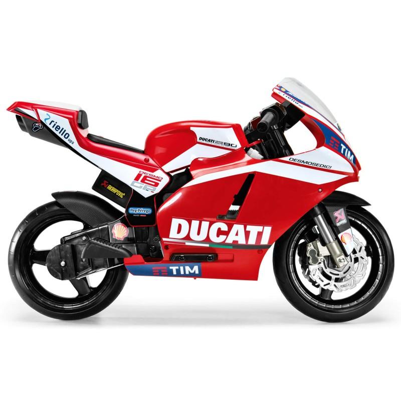 Elektromobilis motociklas PEGPEREGO DUCATI GP 12 V