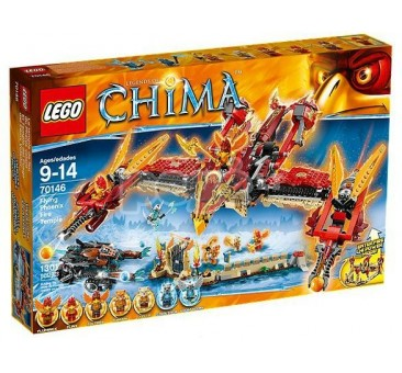 LEGO konstruktorius FLYING PHOENIX FIRE TEMPLE 70146
