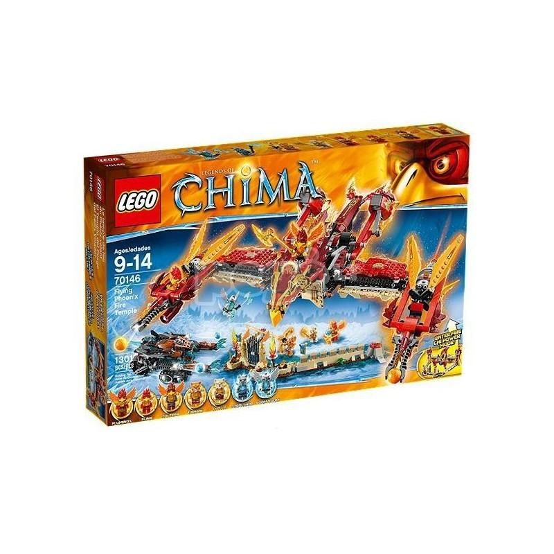 LEGO konstruktorius FLYING PHOENIX FIRE TEMPLE 70146