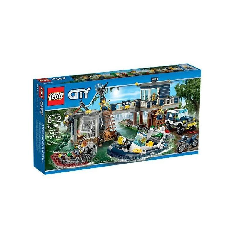 LEGO konstruktorius SWAMP POLICE STATION 60069