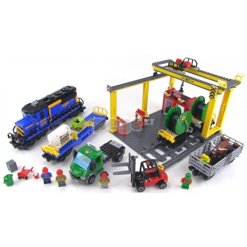 LEGO konstruktorius City Krovininis traukinys 60052