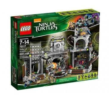 LEGO konstruktorius TURTLE LAIR INVASION 79117