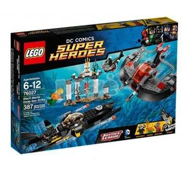 LEGO konstruktorius BLACK MANTA DEEP SEA STRIKE 76027