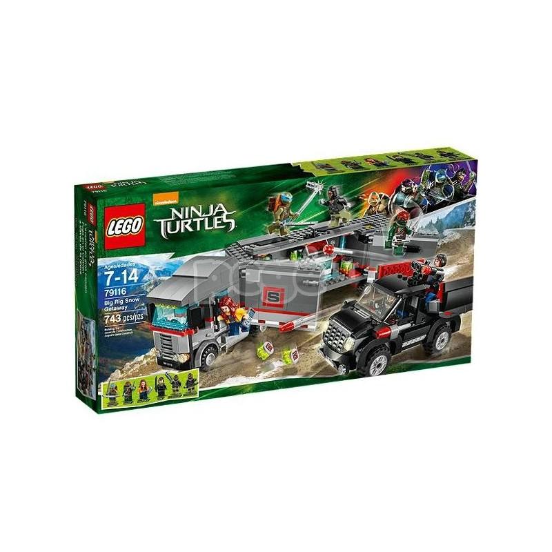 LEGO konstruktorius BIG RIG SNOW GETWAY 79116