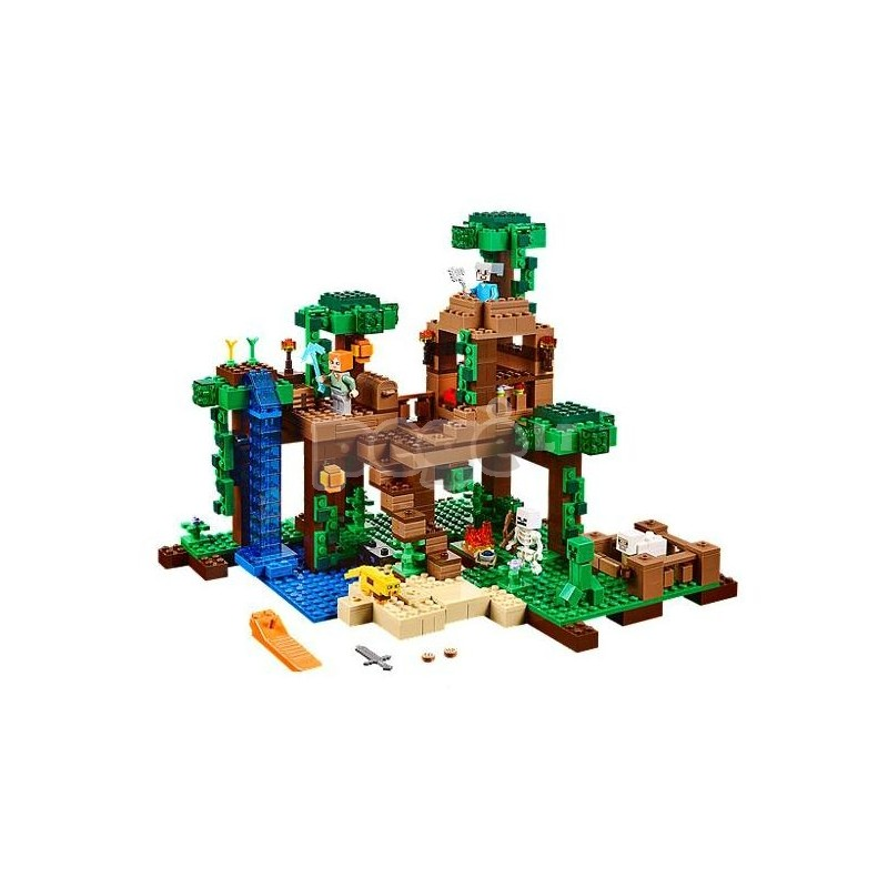 LEGO konstruktorius THE JUNGLE TREE HOUSE 21125