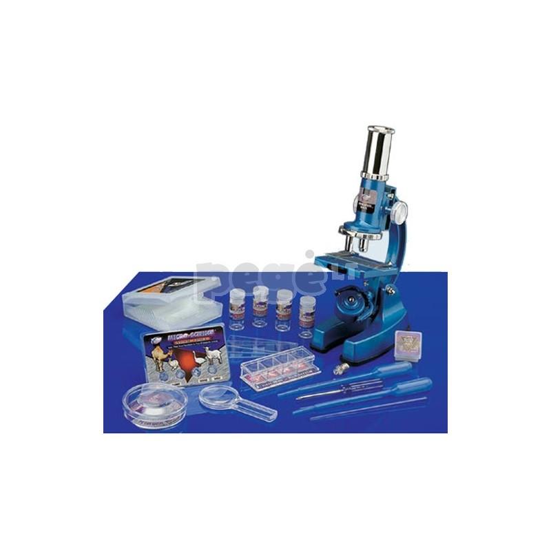 "Mikroskopas Eastcolight  ""Deluxe Microscope Set"" 48 dalių"