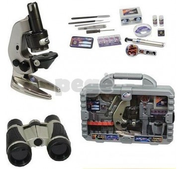 "Mikroskopas Easteolight  ""3-in-1 Advanced Science Kit in Carrying Case"""