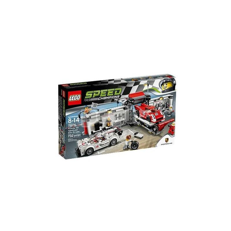 LEGO konstruktorius PORSCHE 919 HYBRID AND 917K 75876