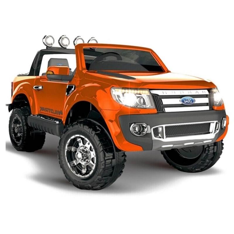 Elektromobilis FORD RANGER oranžinis 12 V