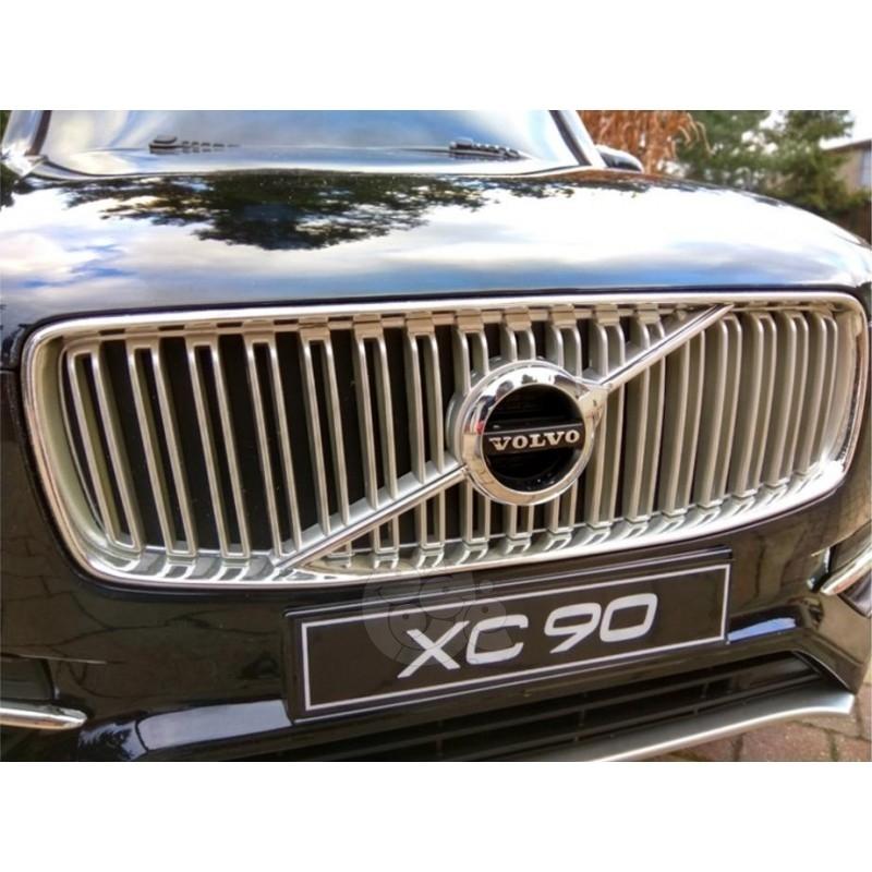 Elektromobilis VOLVO XC90 juodas lakuotas 12V
