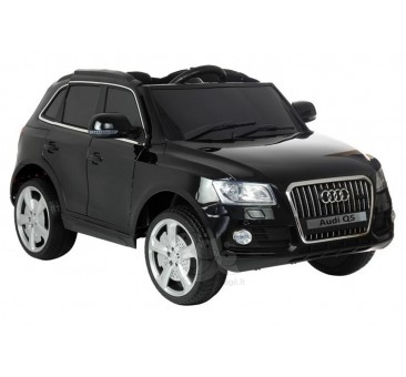 Elektromobilis AUDI Q5 juodas lakuotas 12V