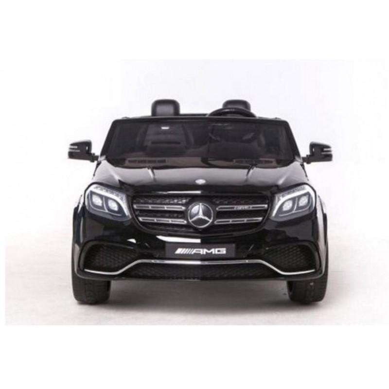 Elektromobilis MERCEDES GLS63AMG 4x4 juodas, 2x12 V