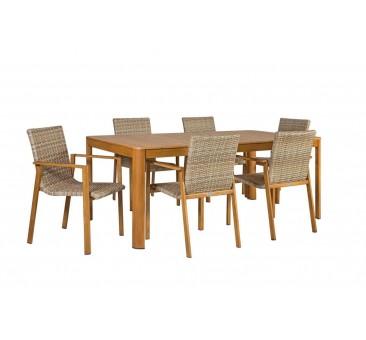 Lauko baldai NIDA