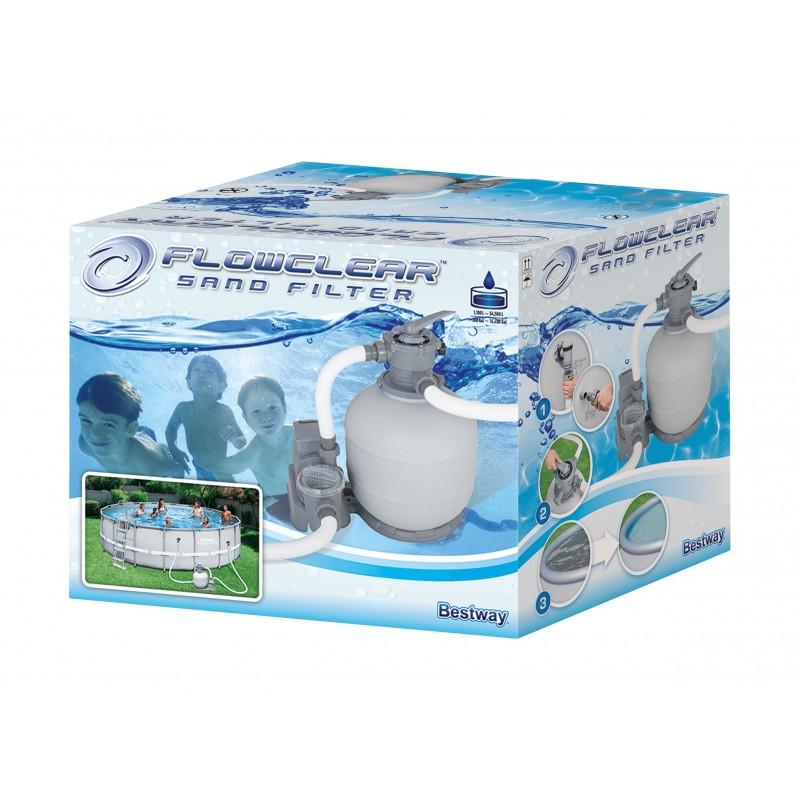 Smėlinis baseino filtravimo siurblys BESTWAY