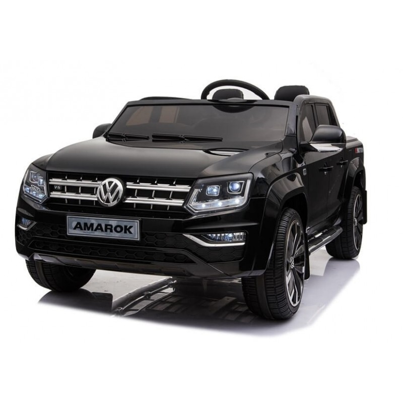 Elektromobilis VOLKSWAGEN AMAROK 4x4 juodas 12 V