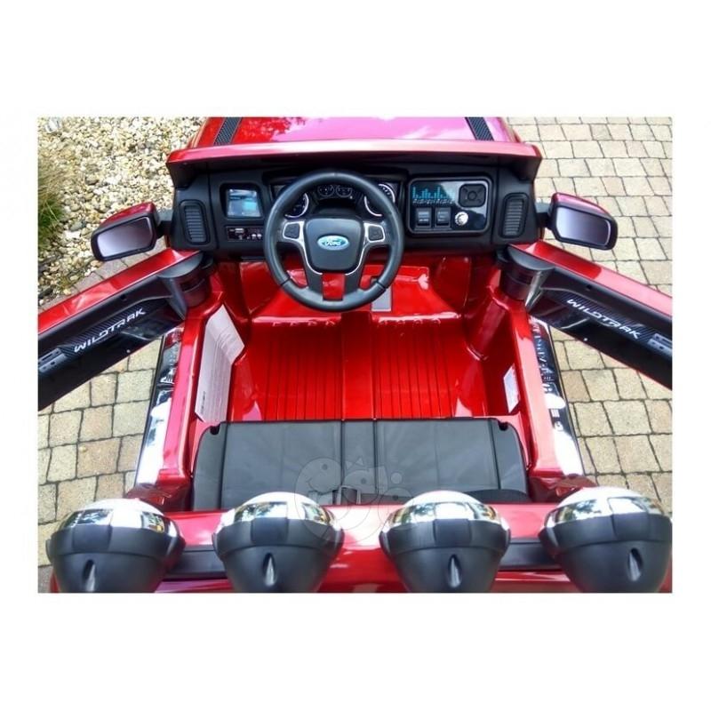 Elektromobilis FORD RANGER raudonas lakuotas