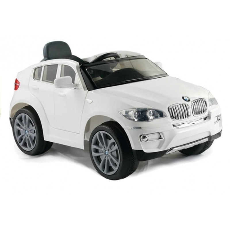 Elektromobilis BMW X6 baltas 12 V