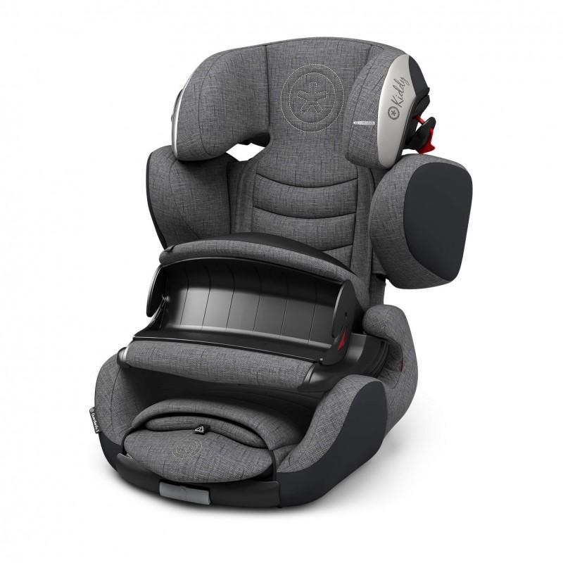 Automobilinė kėdutė KIDDY GUARDIANFIX 3 GREY MELANGE