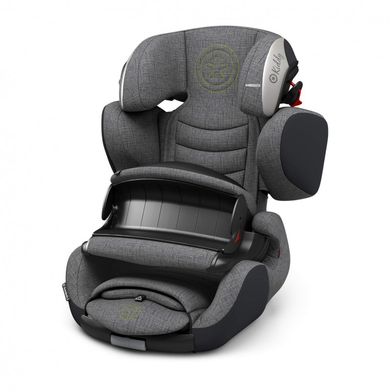 Automobilinė kėdutė KIDDY GUARDIANFIX 3 GREY MELANGE