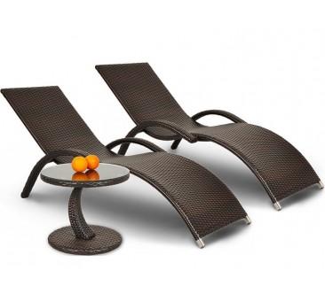Lauko gultai MOGO + staliukas