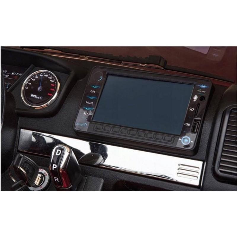 Elektromobilis FORD 4x4, 2x12 V su LCD ekranu juodas