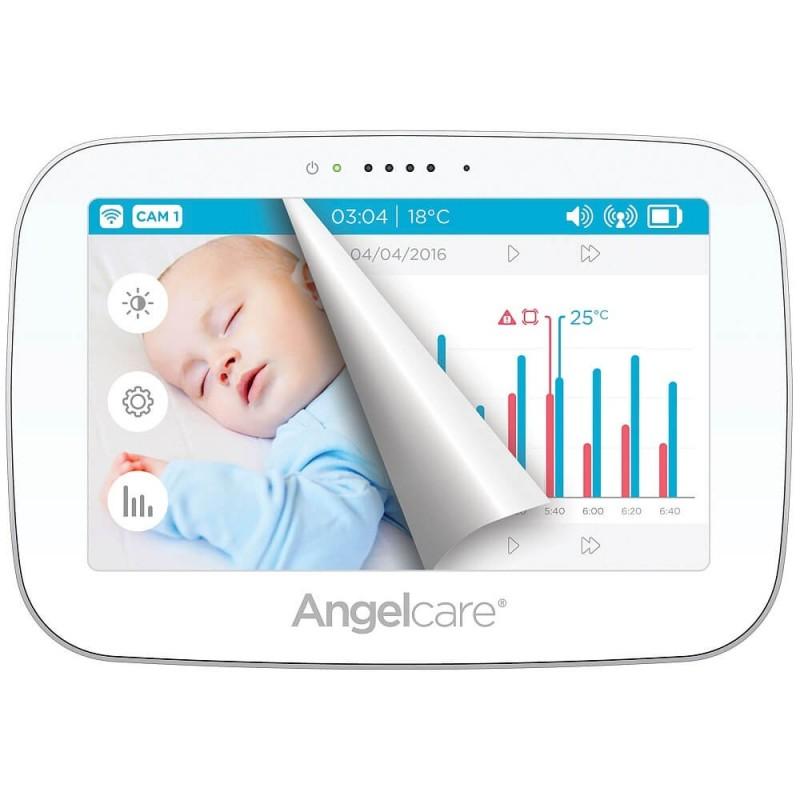 Video auklė ANGELCARE AC517 su bevieliais kvėpavimo jutikliais