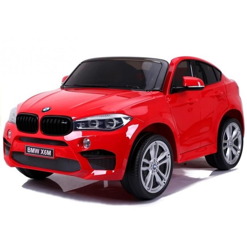 Elektromobilis BMW X6M raudonas 12V