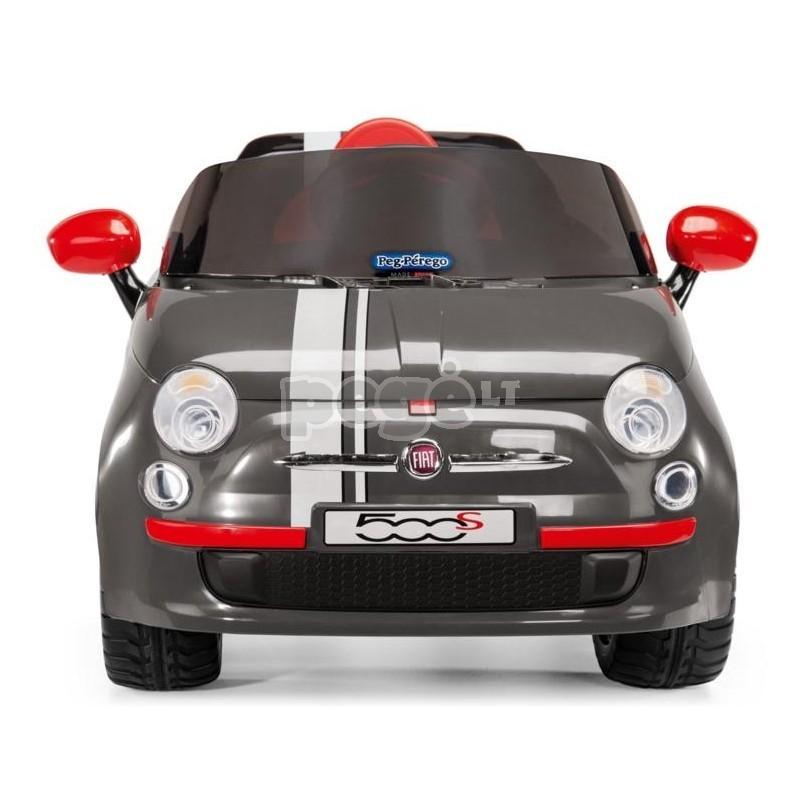 Elektromobilis PEG PEREGO FIAT 500 S 6V su nuotolinio valdymo pultu