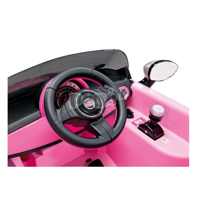 Elektromobilis PEG PEREGO FIAT 500 STAR 6V su nuotolinio valdymo pultu