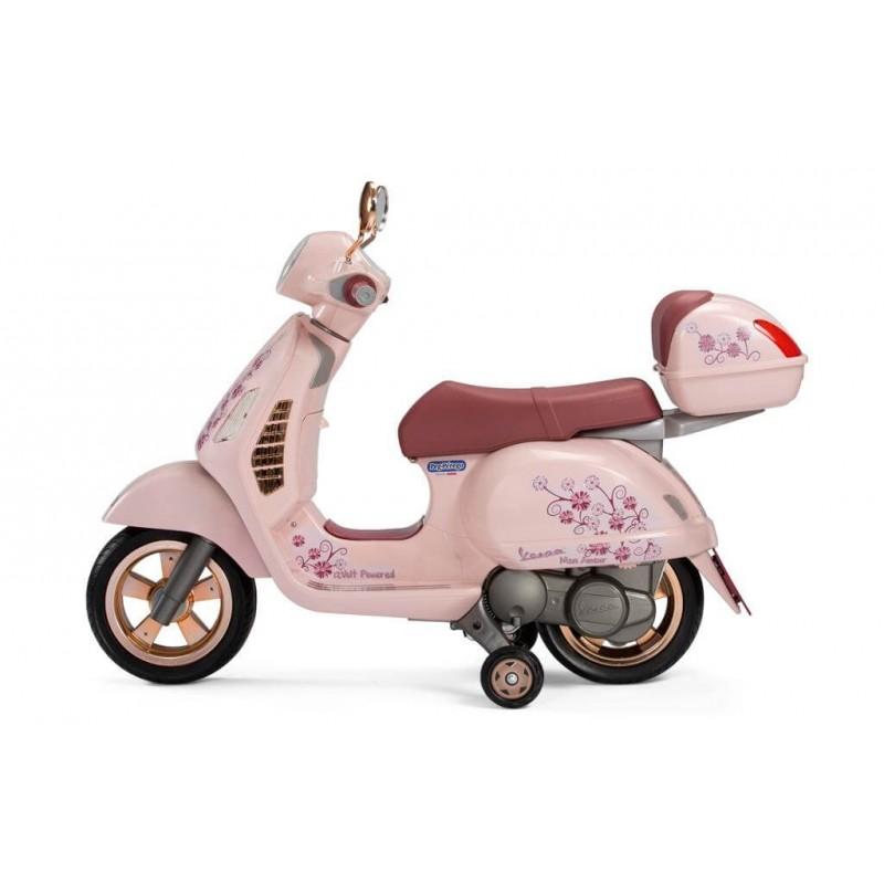 Elektromobilis motociklas PEG PEREGO VESPA MON AMOUR 12V