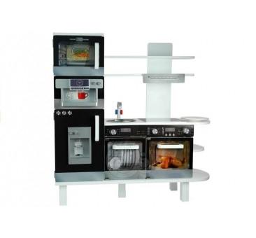 Medinė virtuvėlė su kavos aparatu EXPRESS