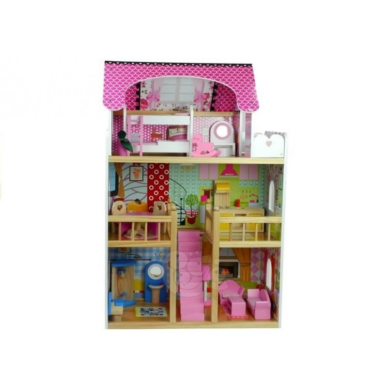 Medinis lėlių namelis ATOSTOGŲ VILA