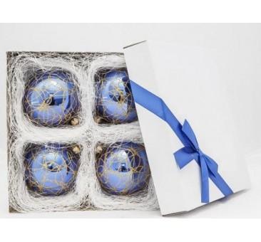 Mėlynų žaisliukų rinkinys 01 10 cm