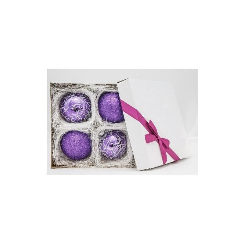 Violetinis žaisliukų rinkinys 01 10 cm