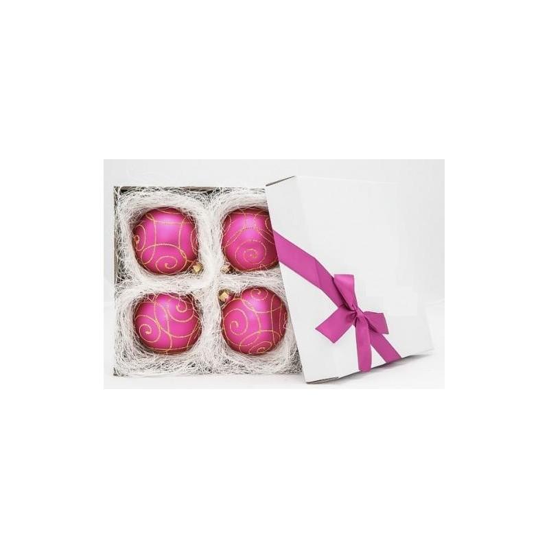 Rožinis žaisliukų rinkinys 8 cm