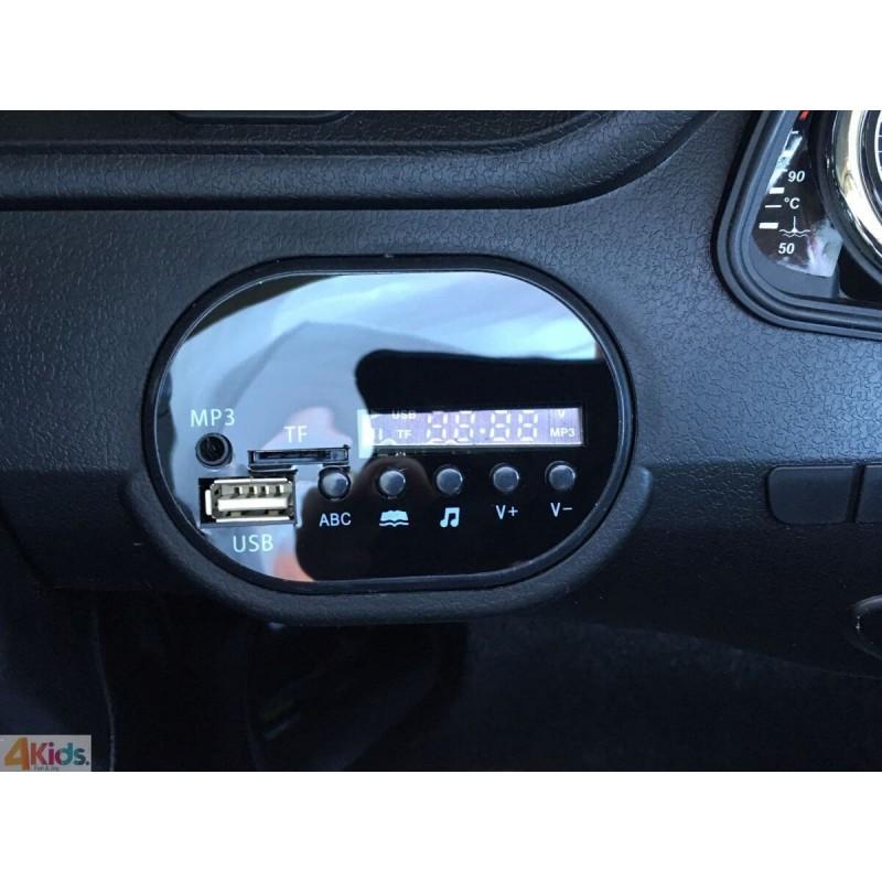 Elektromobilis AUDI Q7 juoda 12 V
