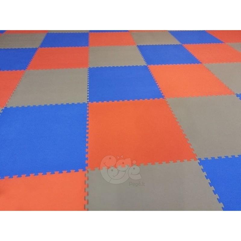 Susineriantis kilimėlis SAFETY MAT BIG PUZZLE 66 mm