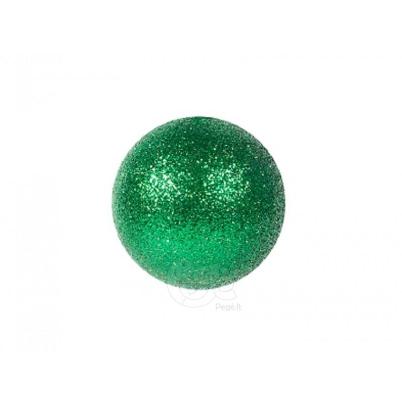 Žaisliukų eglutei rinkinys blizgantys 20 cm 12 vnt