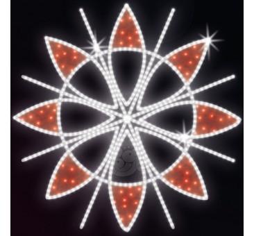 """Dekoracija LED """"Žiemos žiedas"""""""