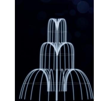 Dekoracija 3D LED fontanas 400x300 , 1987