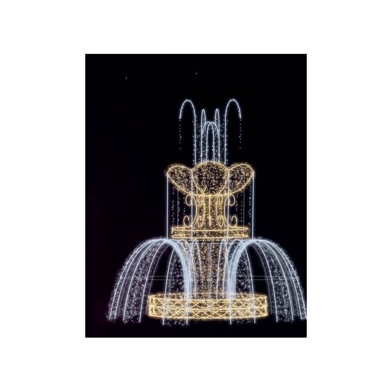Dekoracija 3D LED fontanas 300x275 , 1989