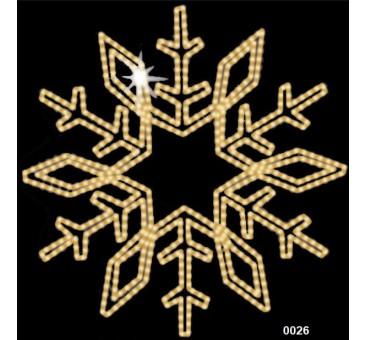 """Kalėdinė LED dekoracija """"Snaigė"""""""