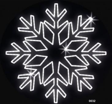 """Kalėdinė LED dekoracija """"Snaigė"""" 300 cm"""