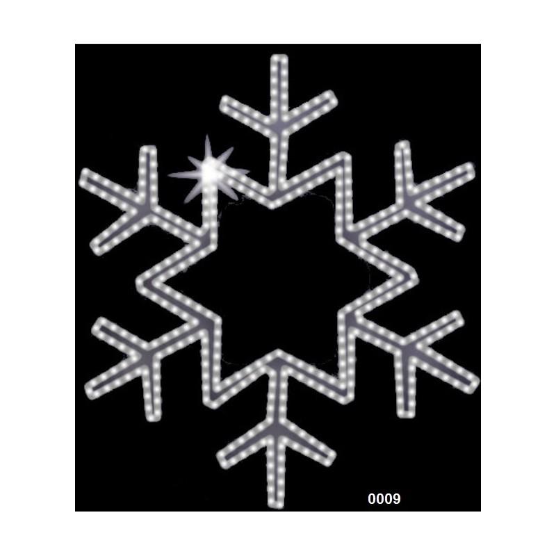 """Kalėdinė LED dekoracija """"Snaigė""""  100 cm"""