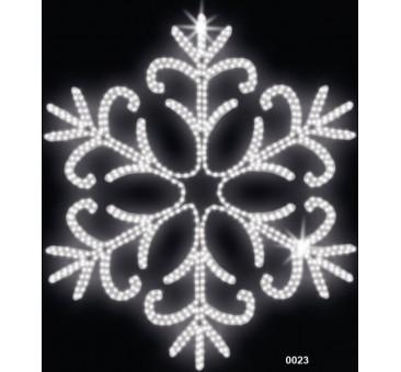 """Kalėdinė LED dekoracija """"Snaigė"""" 150 cm"""